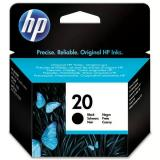 HP originál ink C6614DE, No.20, black, 455s, 28ml, HP DeskJet 610C, 640C, 656C