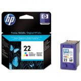 HP originál ink C9352AE, No.22, color, 138s, 5ml, HP PSC-1410, DeskJet F380,