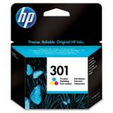 HP originál ink CH562EE, No.301, color, 165s, HP HP Deskjet 1000, 1050, 2050,