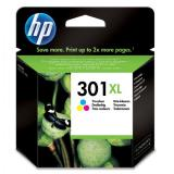 HP originál ink CH564EE, No.301XL, color, 330s, HP HP Deskjet 1000, 1050, 2050,